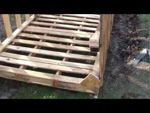 How to build free or cheap shed from pallets diy garage for Outdoor storage ideas cheap