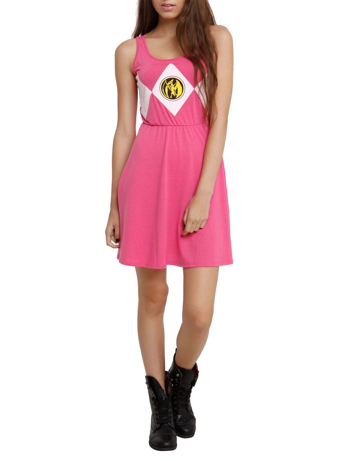 Mighty Morphin Power Rangers Pink Ranger Costume Dress | Hot Topic ...