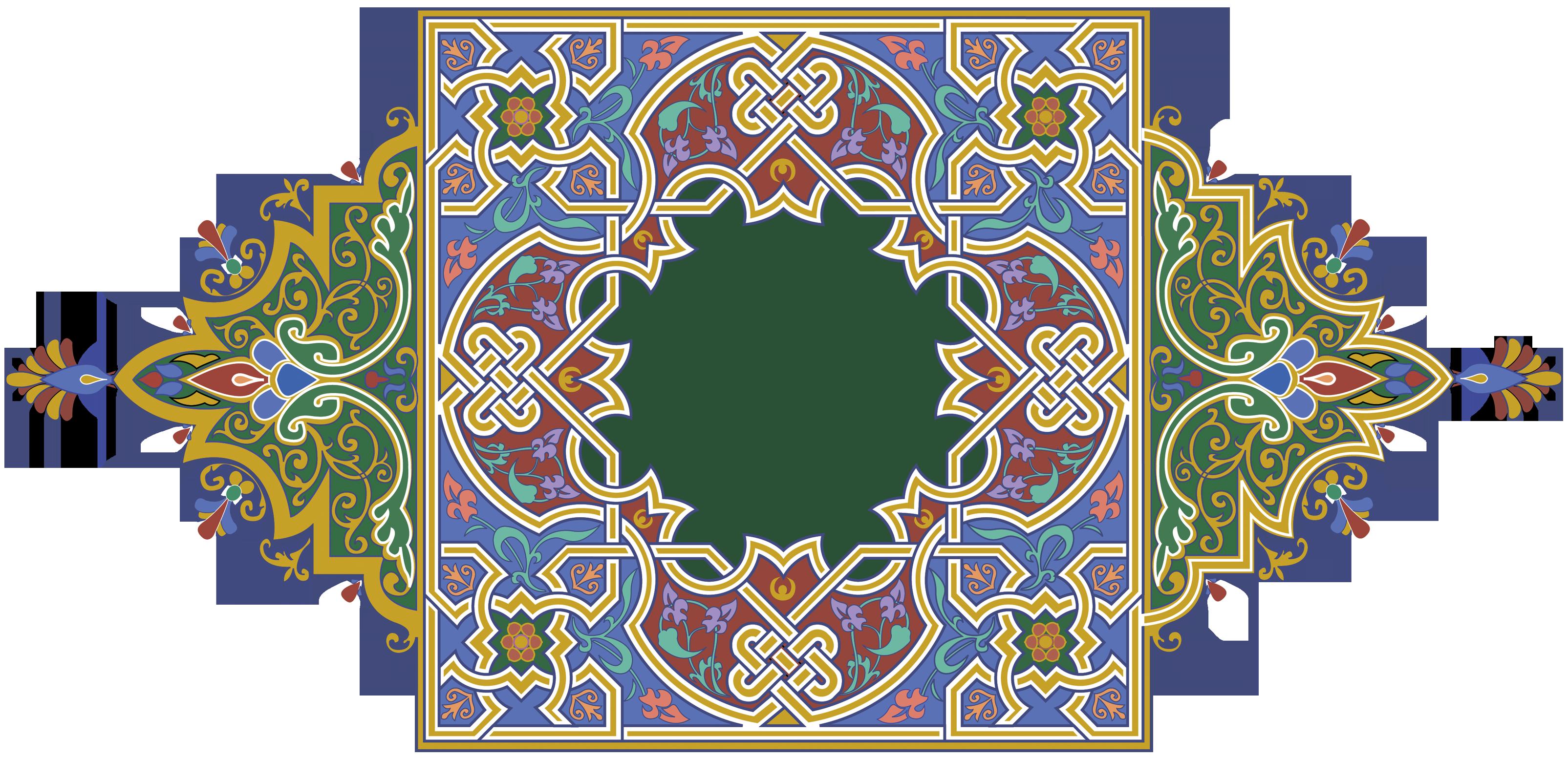 arabesko.ru_02.png (3209×1554) Ornamen, Bingkai