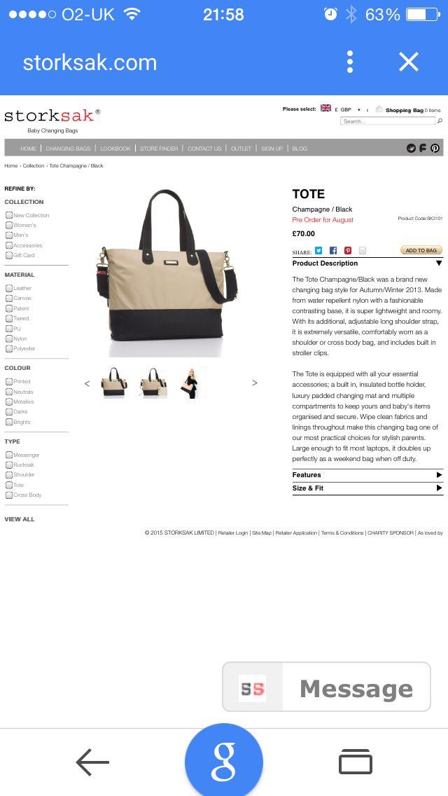 Changing bag #2