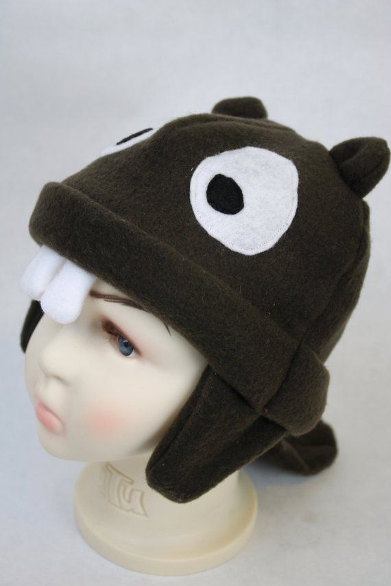 Baby and Kids Beaver Fleece Hat a3b1a44de57