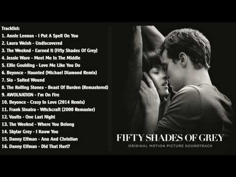 Fifty Shades Of Grey Various Artists Ost 2015 Youtube
