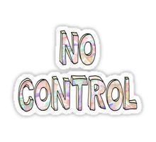 No Control - One Direction  Sticker