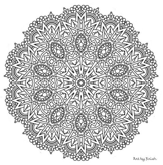 222 Printable Intricate Mandala Coloring Pages Instant Download Pdf Mandala Doodling P Coloring Pages Nature Mandala Coloring Books Mandala Coloring Pages