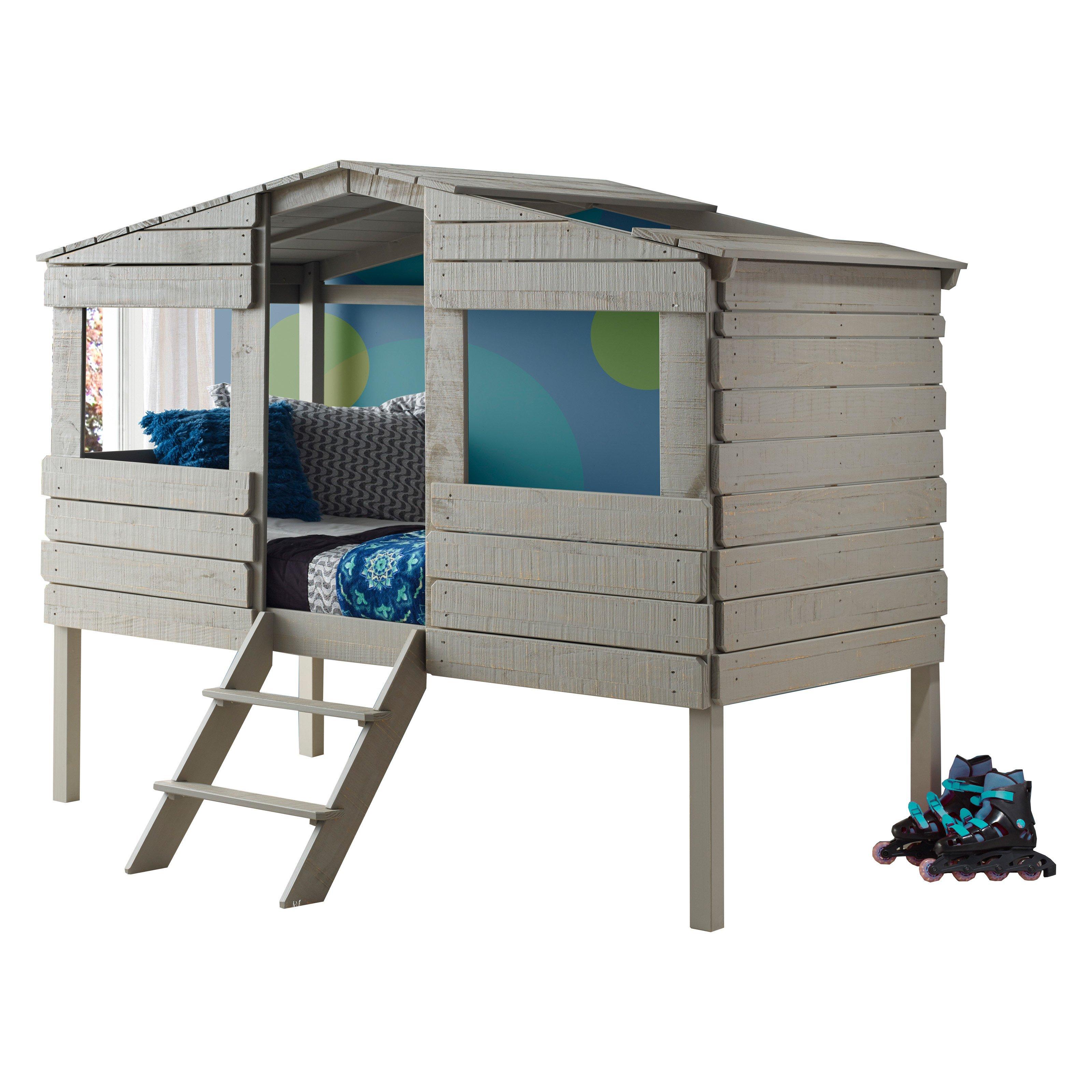 Safari Tree House Loft Bed Products Low Loft Beds Kid