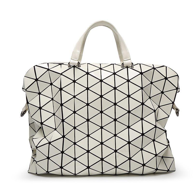a9021c4a38 Aolen 2017 New Fashion Women Pearl BaoBao Bag Diamond Lattice Tote Geometry  Quilted Handbag Geometric Mosaic