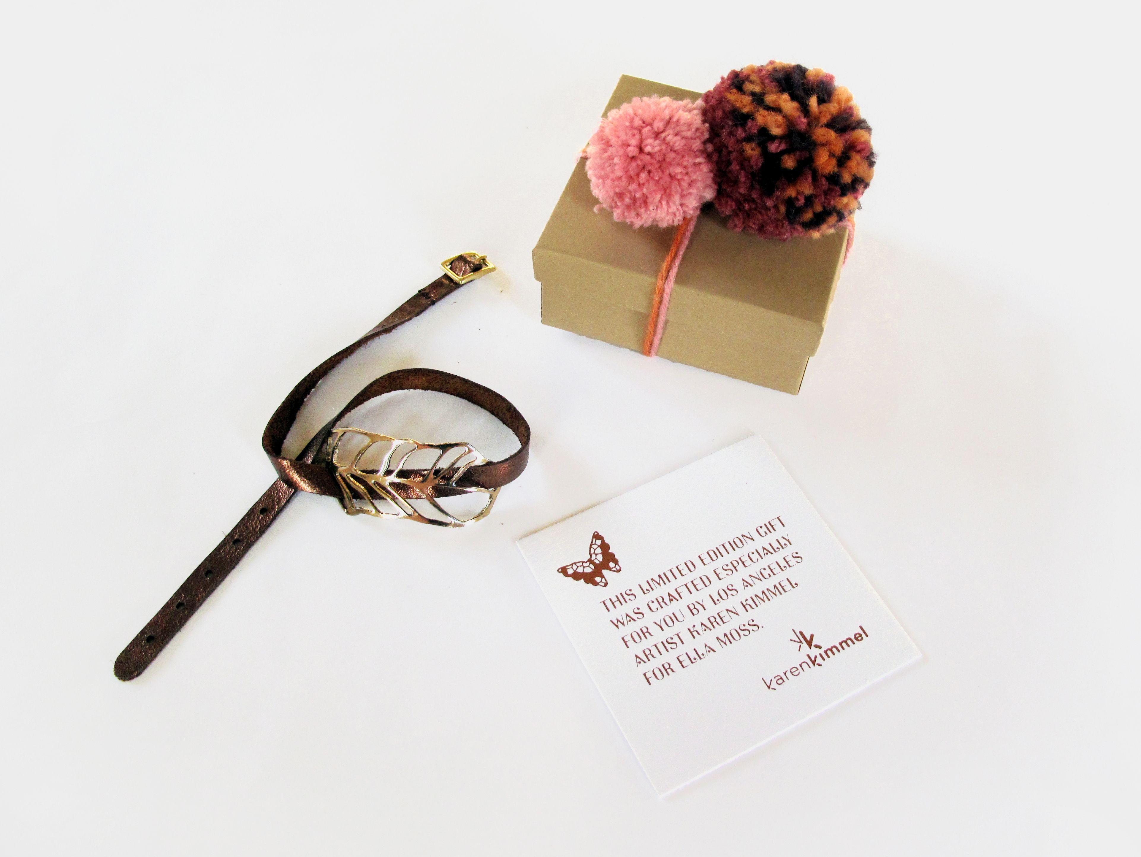Limited edition bracelet by Karen Kimmel Studios for Ella Moss