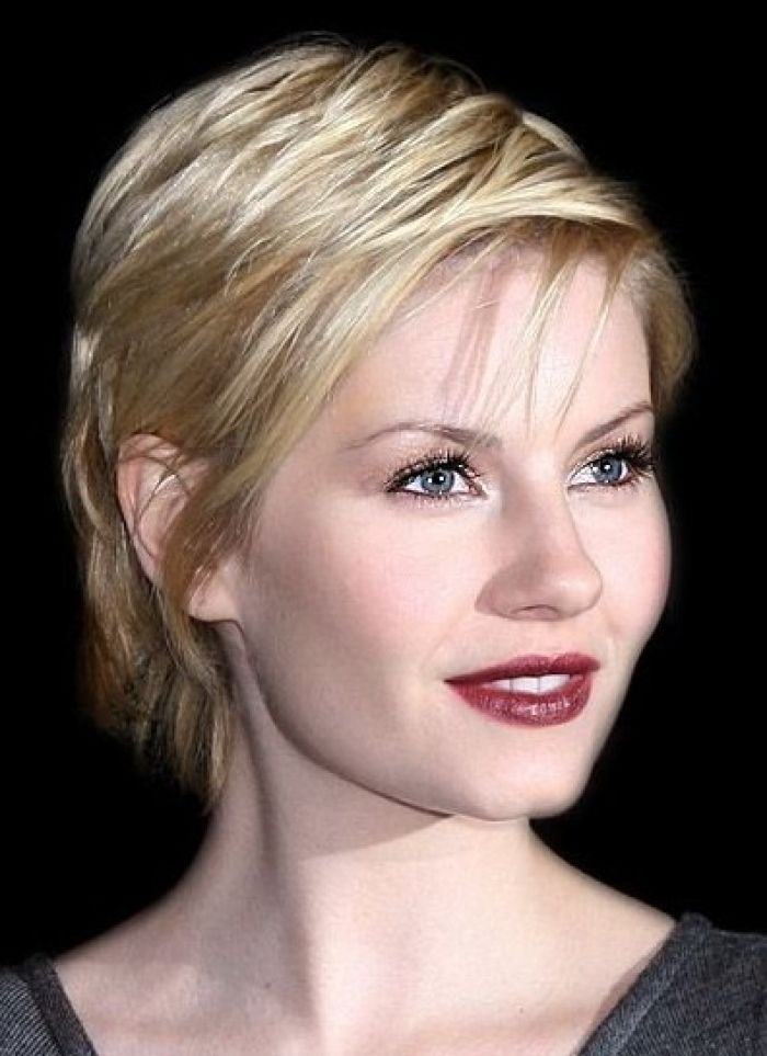 Awe Inspiring Cute Hairstyles For Short Thin Straight Hair Hairstyle Short Hairstyles Gunalazisus