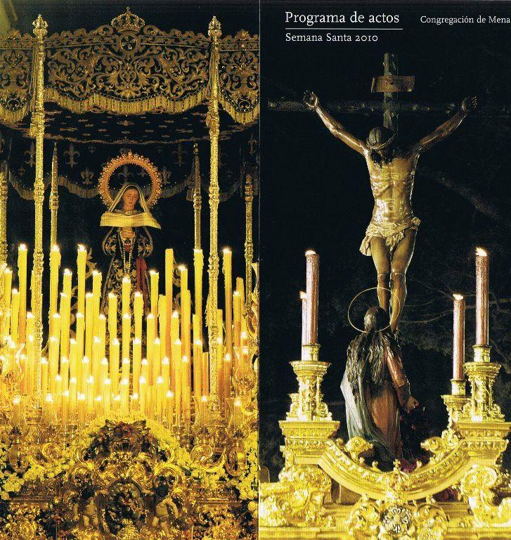 Cristo de la Buena Muerte y Nuestra Seora de la Soledad de Mena