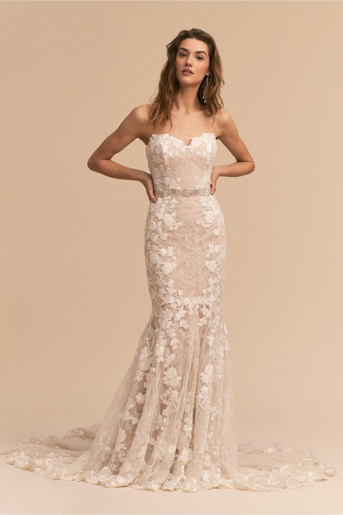 bdcf235567a8 Lombardy Gown from BHLDN | The Romantic Bride | Bhldn wedding dress ...