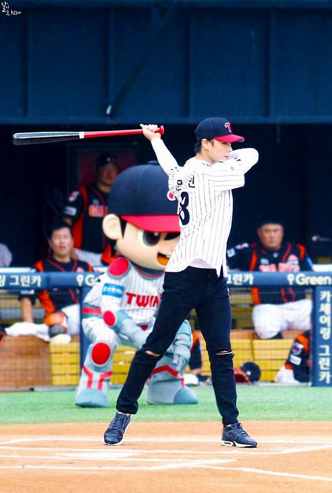LG Twins Ceremonia 02/08/17 MoonBin