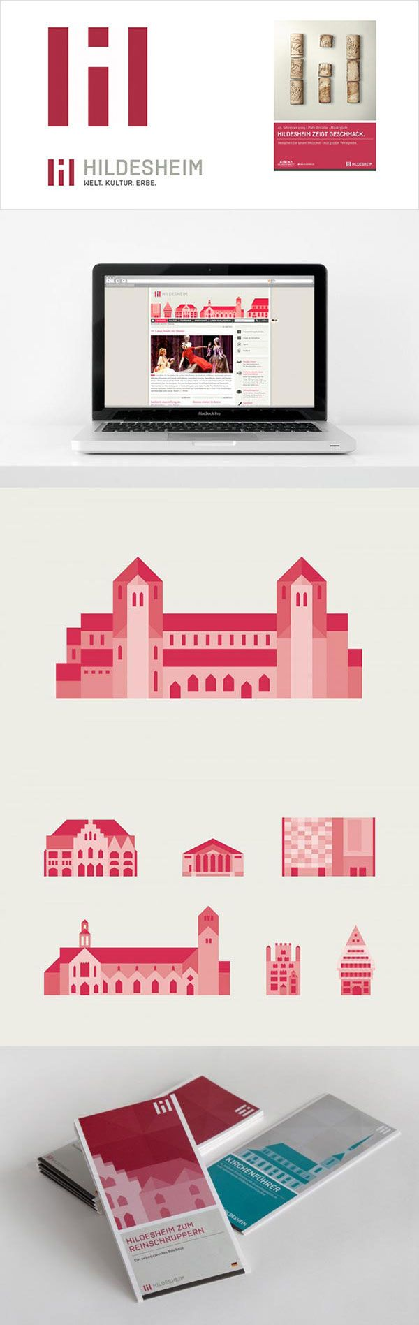 Hildesheim, Germany – logo design and corporate identity ...