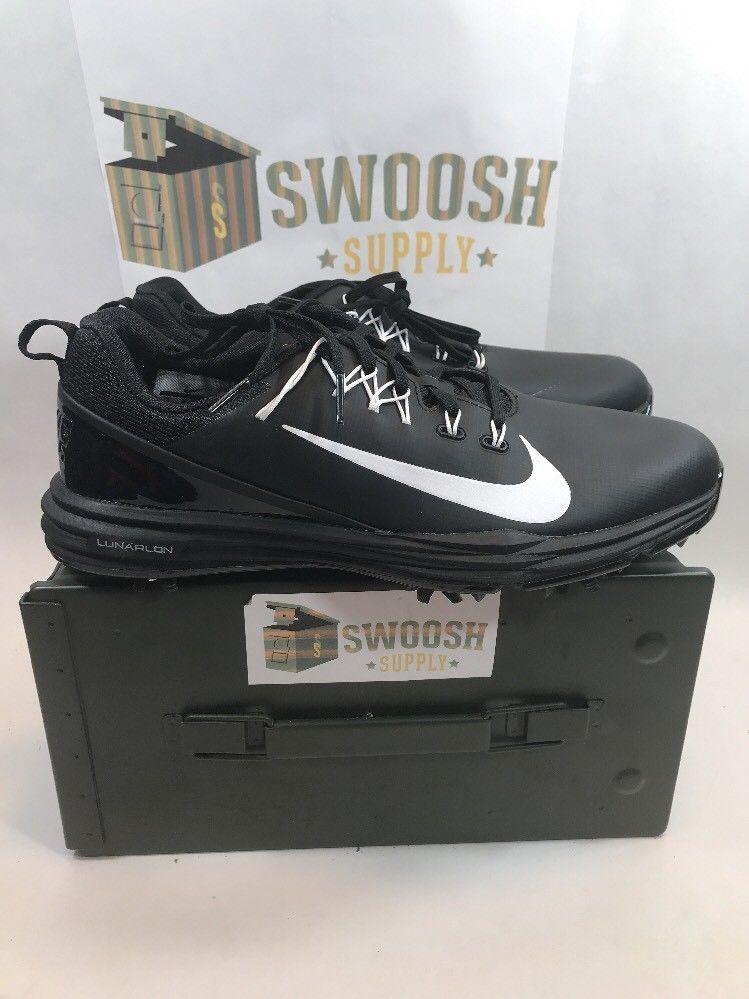 competitive price 42fcb 4a505 Nike Mens Lunar Command 2 Golf Shoes Men Size 8 849968-002 BlackWhite Nike