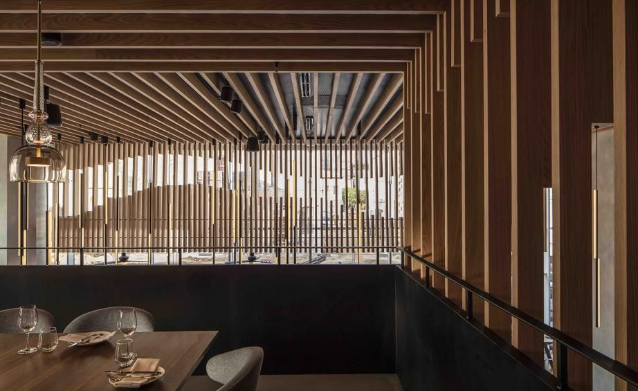 L28 Culinary Platform Tel Aviv Israel Architect Design Cafe Design Lighting Design
