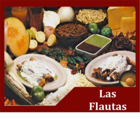 Las Flautas es un restaurante de cocina mexicana, disfruta de los ricos antojitos mexicanos.