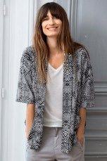 Ellos Collection Oversize-mallinen kimono Sinivalkokuviollinen, Musta/harmaa/kuviollinen, Roosa/kuviollinen - Naiset - Paitikset | Ellos Mobile