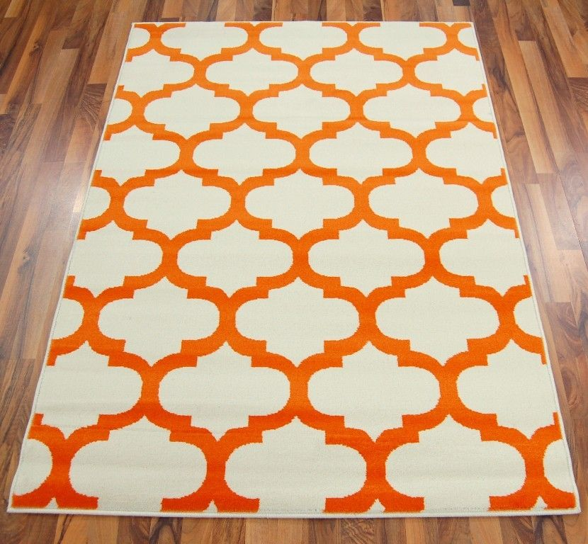 Bazaar 08648 14 Ivory Orange Rugs
