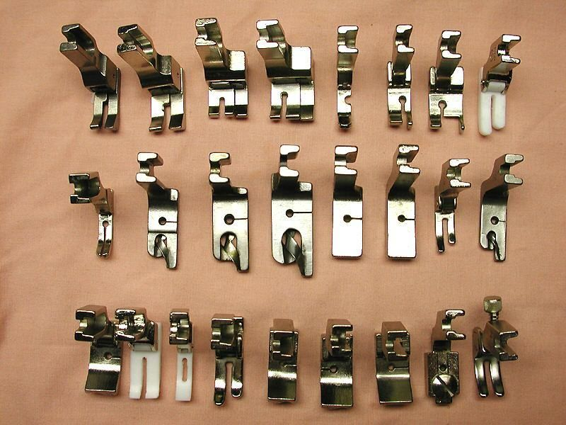 for Many Low Shank Models Of Sewing Machines Presser Feet Set with Reasonable Size and Light Weight Presser Foot Button Hole Snap for Sewing Machine Stainless Steel Household Parts