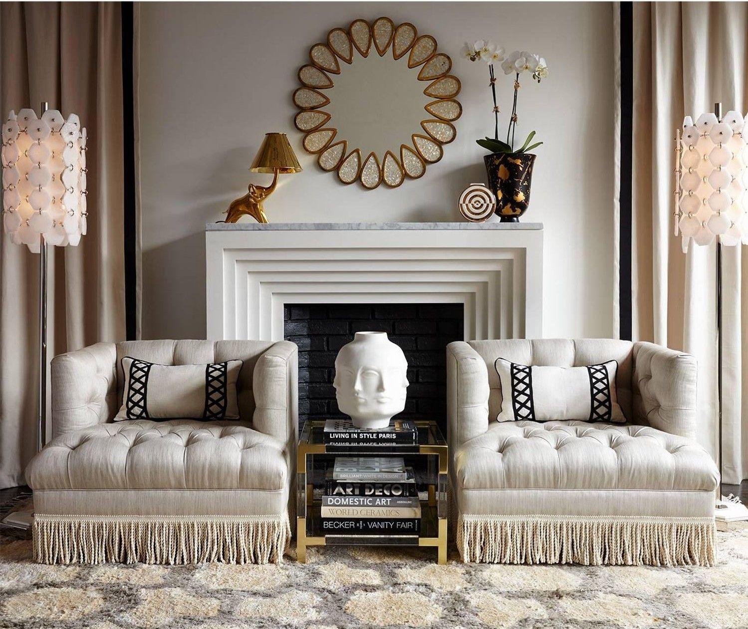 Fashion Meets Interior Design Fringes Living Room Decor Decor