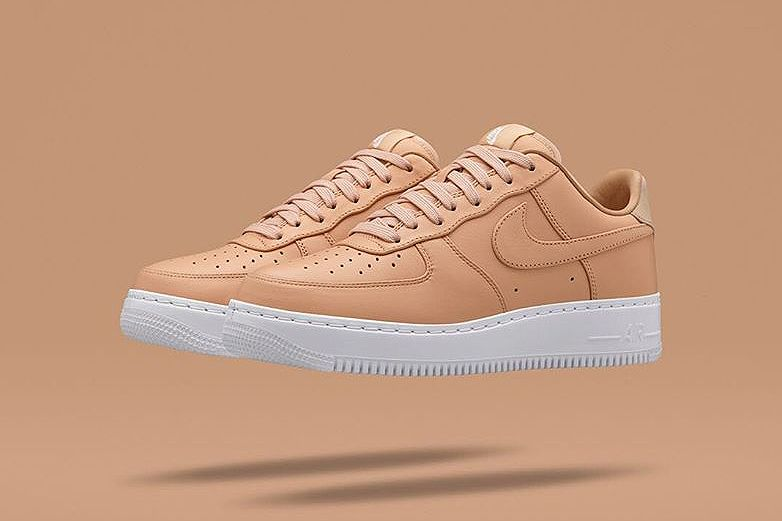 Nike Air Force De Lair Et Une Tan Or