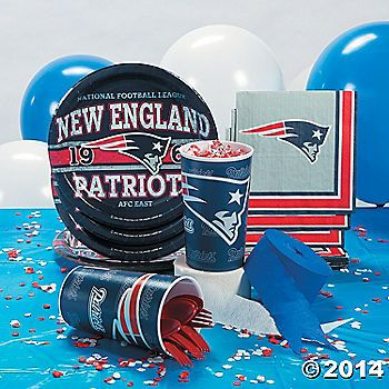 NFL® New England Patriots™ Party Supplies at Oriental Trading