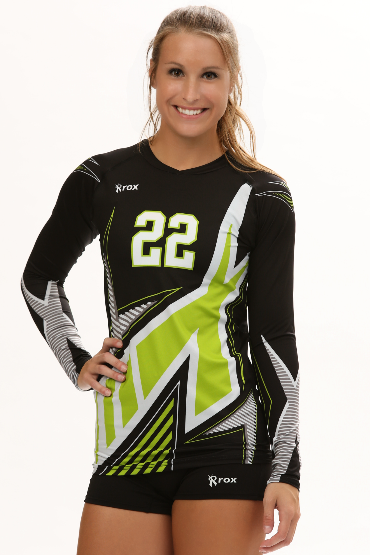 Xcelerator Team Rox 2016 Team Jersey Team Jersey Volleyball Uniforms Women