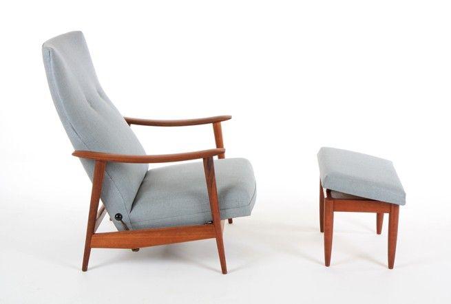 Danske Mobler Rock N Rest Chairs One Ottoman Mr