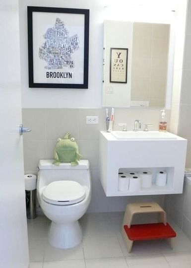 decorar-banos-pequenos2 Baños Pinterest Decorar baños, Baño - decoracion baos pequeos