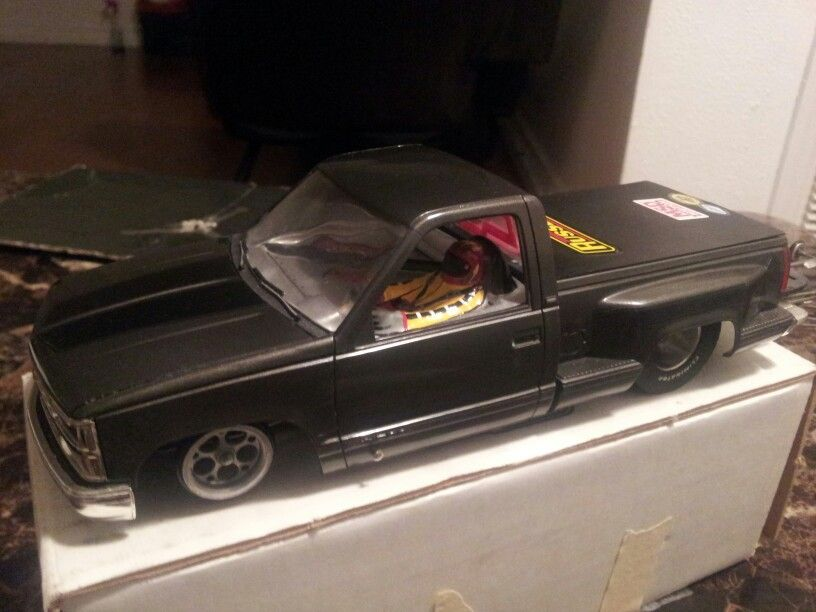 1991 chevy stepside pickup drag slot car. for sale $175 contact ...