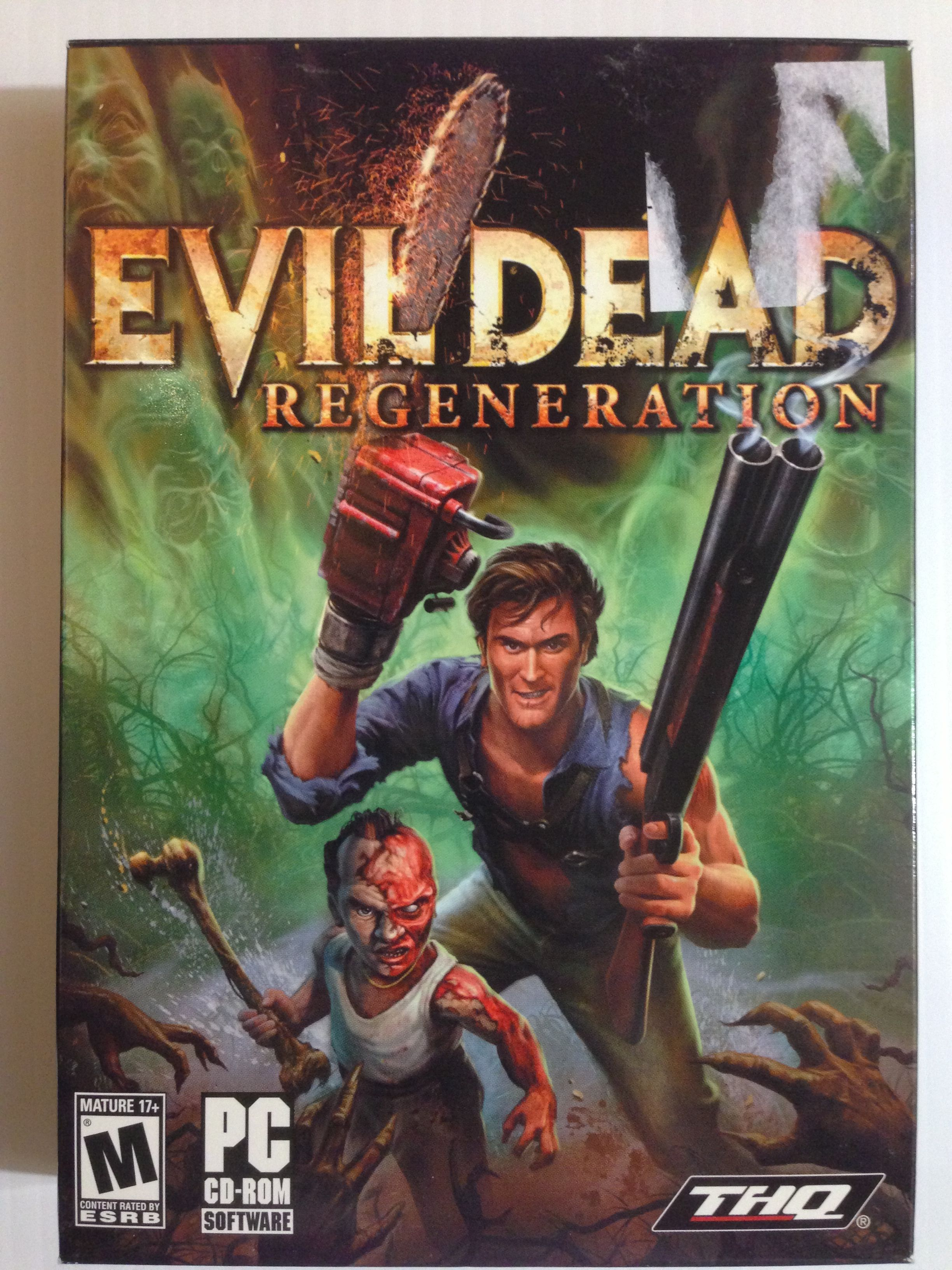 evil dead regeneration evil dead regeneration, xbox games  fuse (ps3 360)