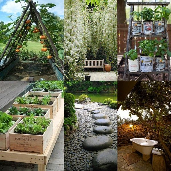 Ideas para decorar tu jard n con estilo casas pinterest jardines casas y ideas - Plantas jardin japones ...