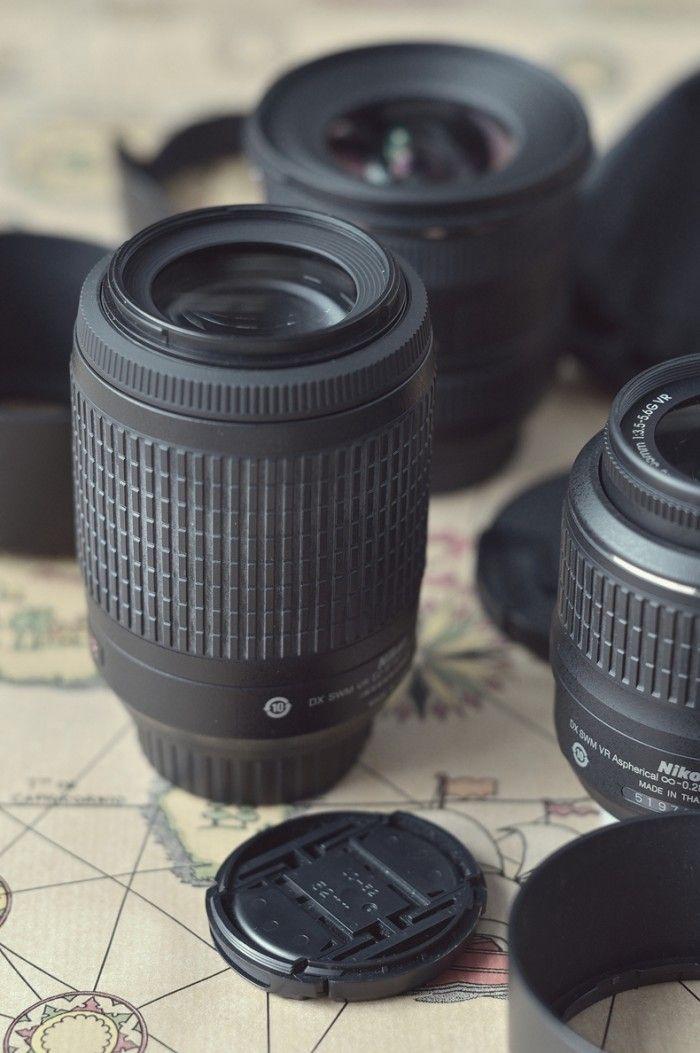 Objetivo Nikkor 55-200mm