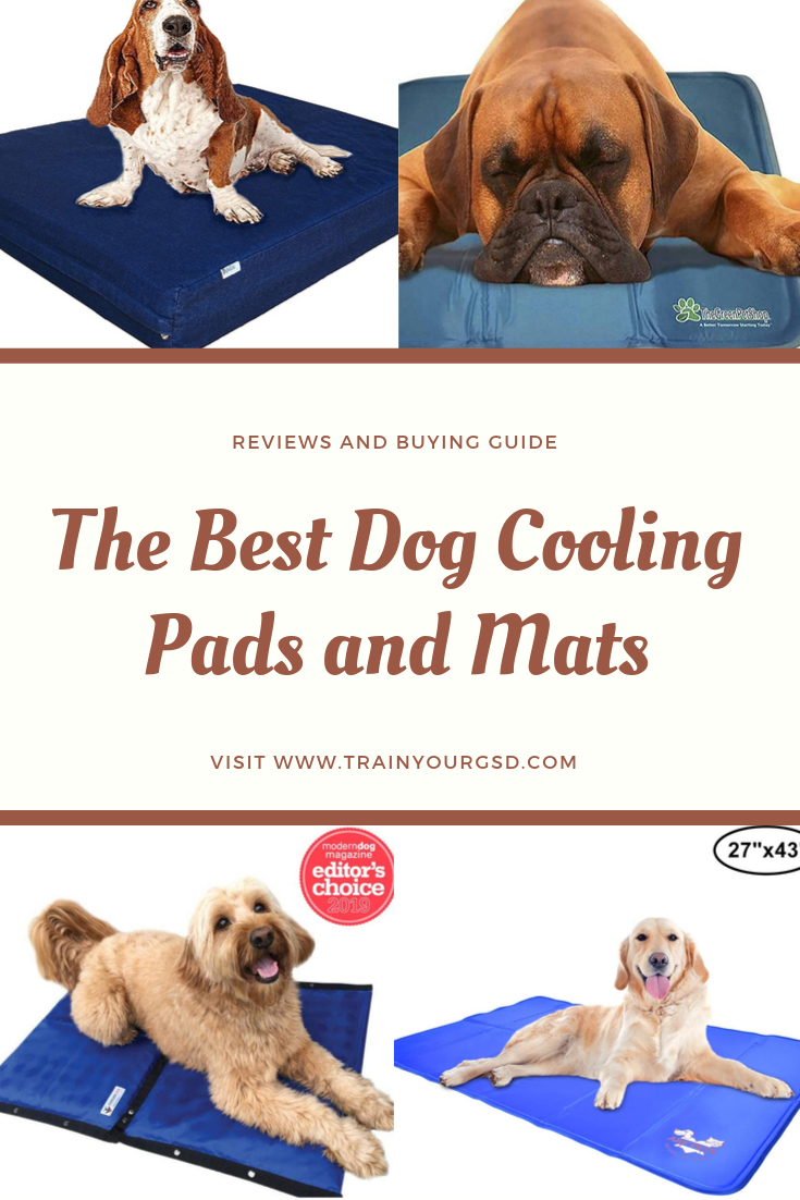The Best Dog Cooling Pads And Mats Reviews And Buying Guide Dogcoolingpads Dogcoolingmats Dog Cooling Pad Dog Advice Best Dogs