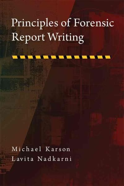 Principles of Forensic Report Writing Products Pinterest - Forensic Report