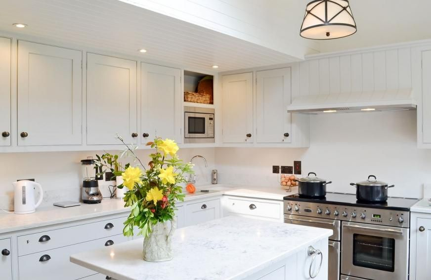 Luxury kitchen at Marsh Barn, Brancaster Luxury holiday cottages