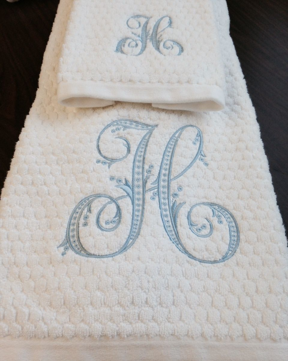 Monogram - Pargatzi Embroidery LLC - Dallas, Tx | Embroidery ...