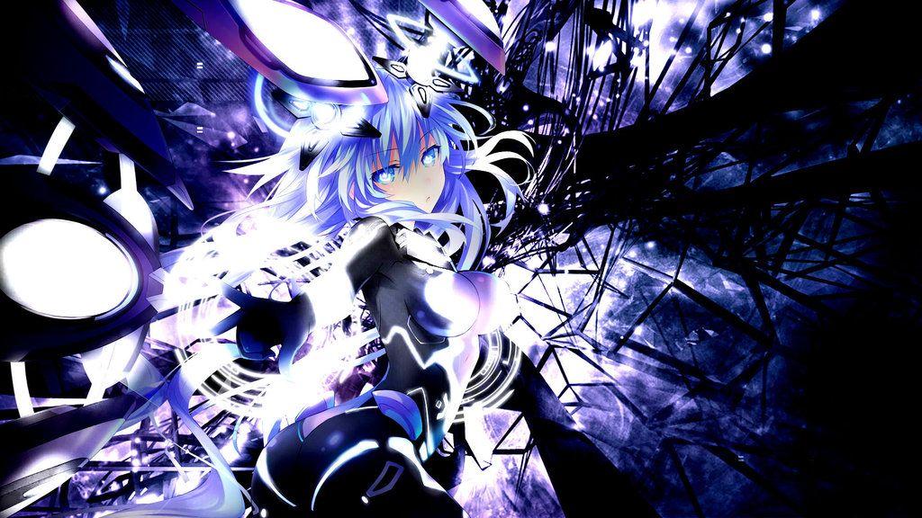 Megadimension Neptunia VII Purple Heart Wallpaper By Jessymoonn