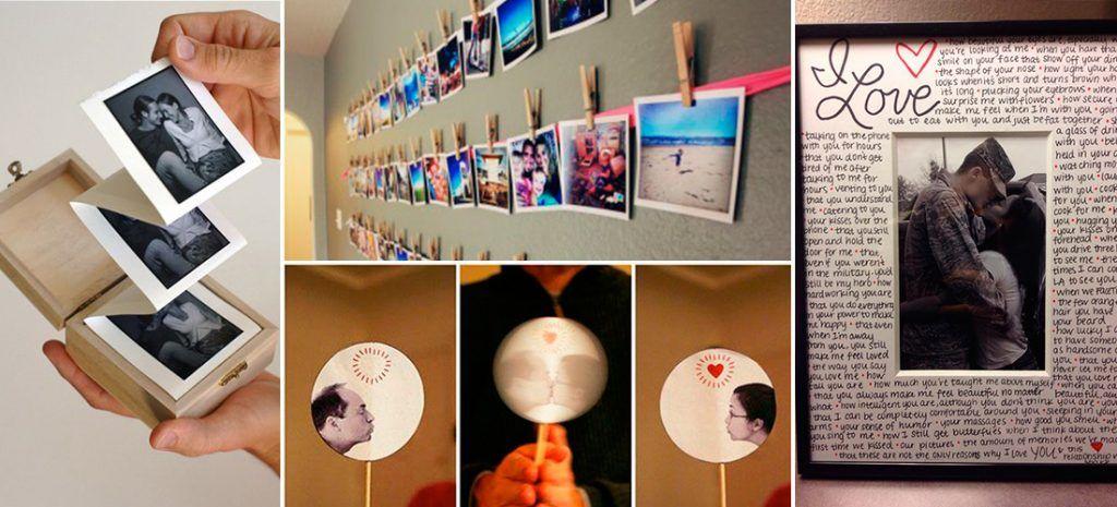10 ideas de marcos para regalarle fotos a tu novio