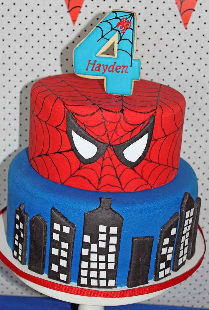 Spiderman Birthday Party Ideas Spiderman Amazing cakes and Birthdays