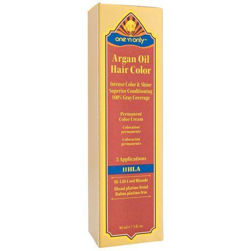 11hla High Lift Cool Blonde Argan Oil Permanent Color Hair Cream Argan Oil Hair Color Argan Oil Hair Hair Color