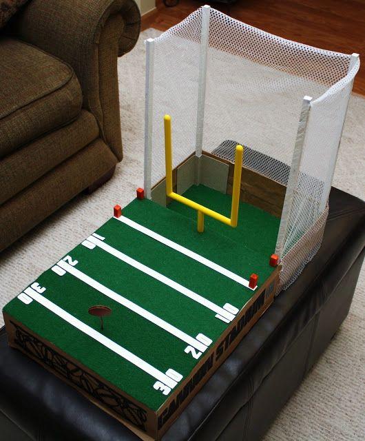 a valentine box football field event ideas valentine day boxes valentine box diy. Black Bedroom Furniture Sets. Home Design Ideas