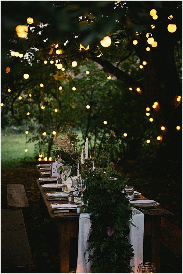 Mystical Woodland Wedding - French Wedding Style