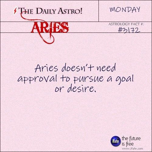 Daily Aries Astrology Fact Take A Look At Your Birth Chart For More