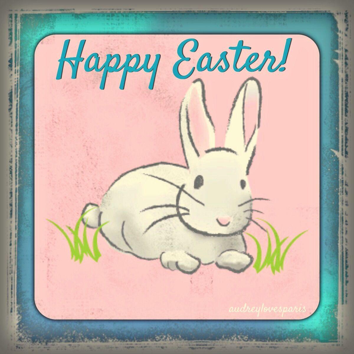 Feminine Homeoffice Desk: Happy Easter, Easter, Happy