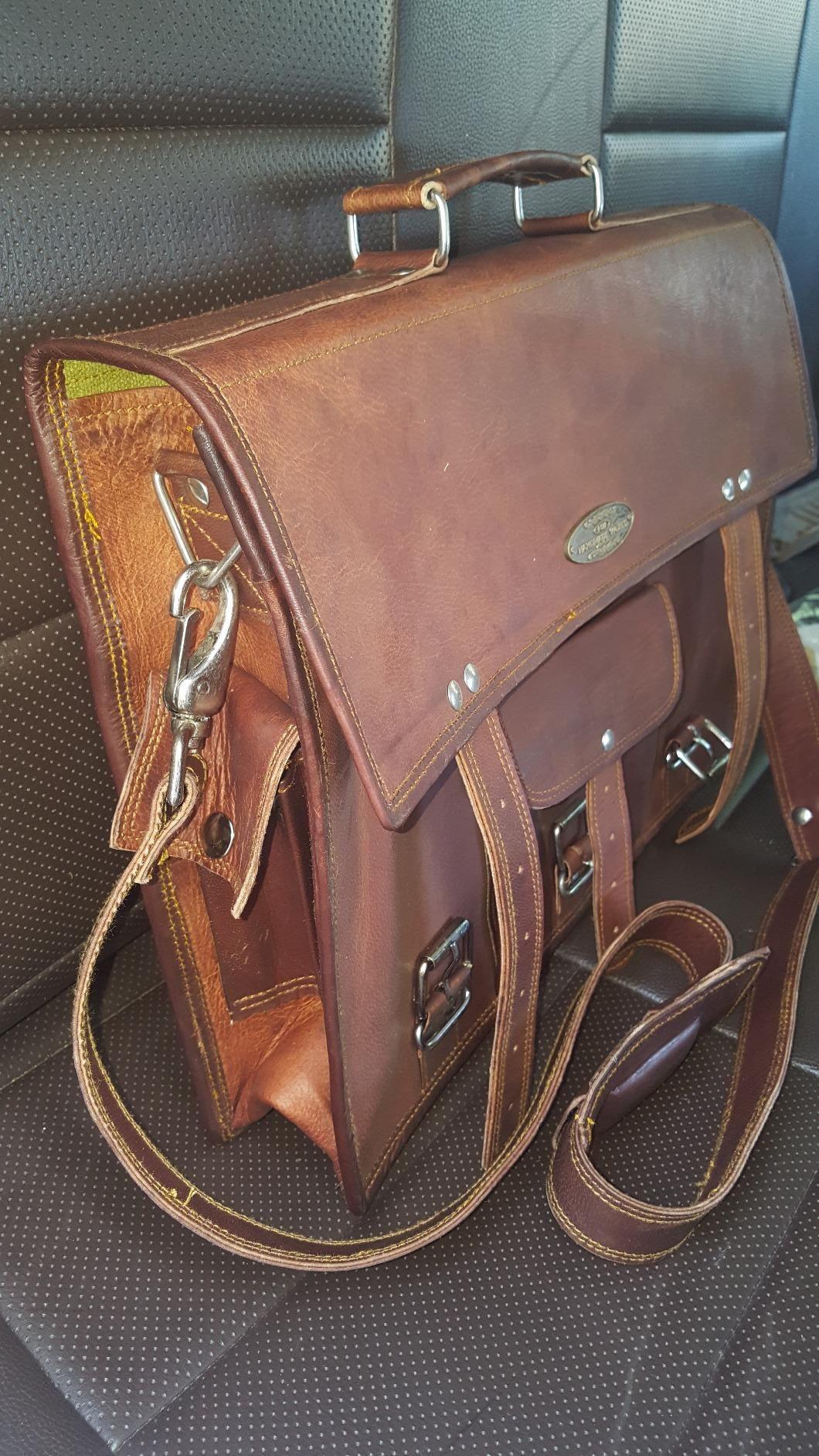 Amazon.com  Customer reviews  Handmade World leather messenger bags for men  women mens briefcase laptop bag best computer shoulder satchel school  distressed ... dad9f59197447