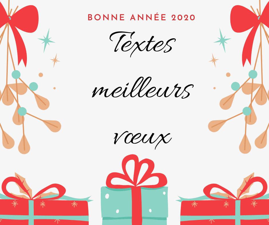 Vœux 2020 Professionnels & Originaux | Texte de voeux, Sms bonne année, Message sms