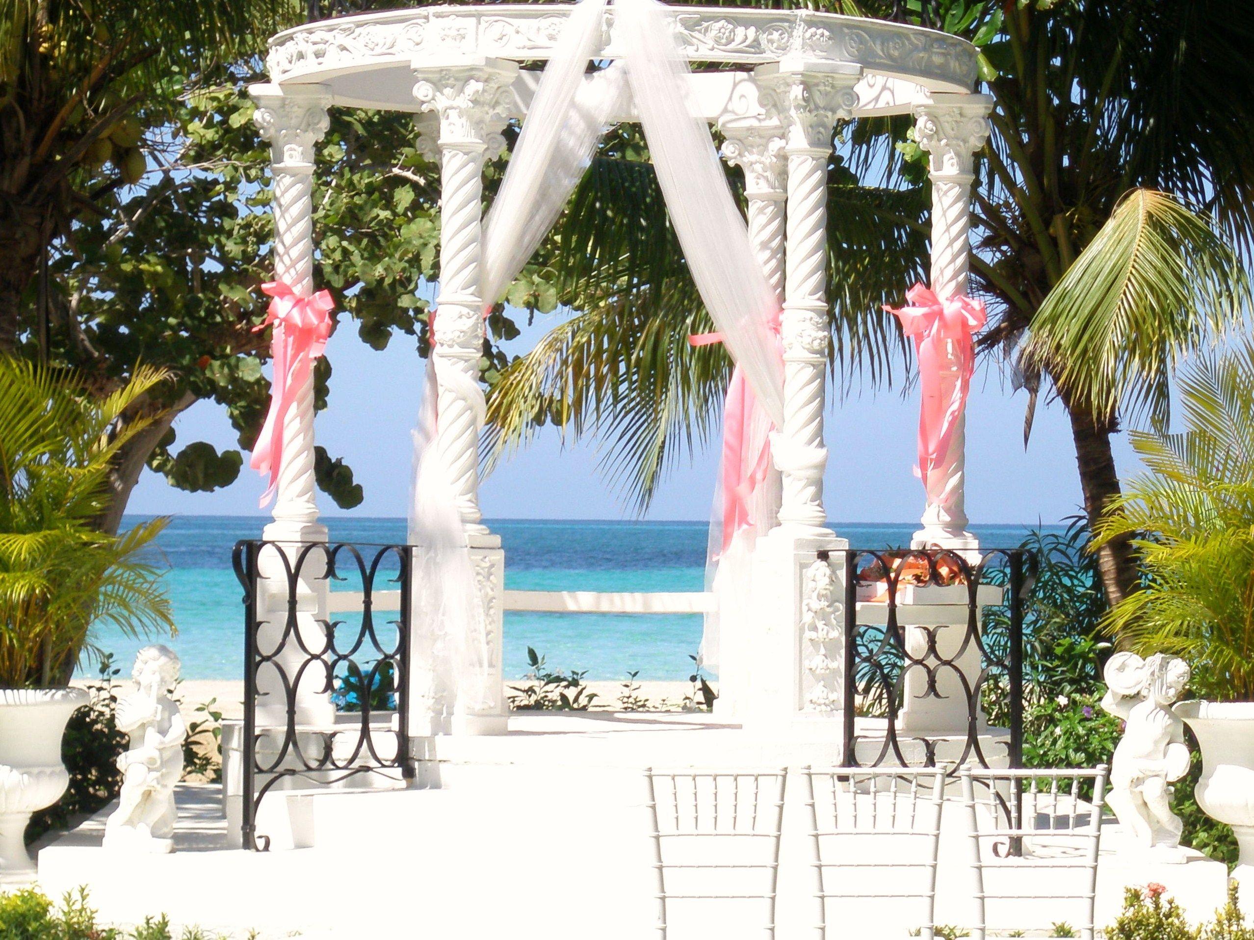 Image Detail For Beaches Negril Wedding Gazebo Seven Mile Beach