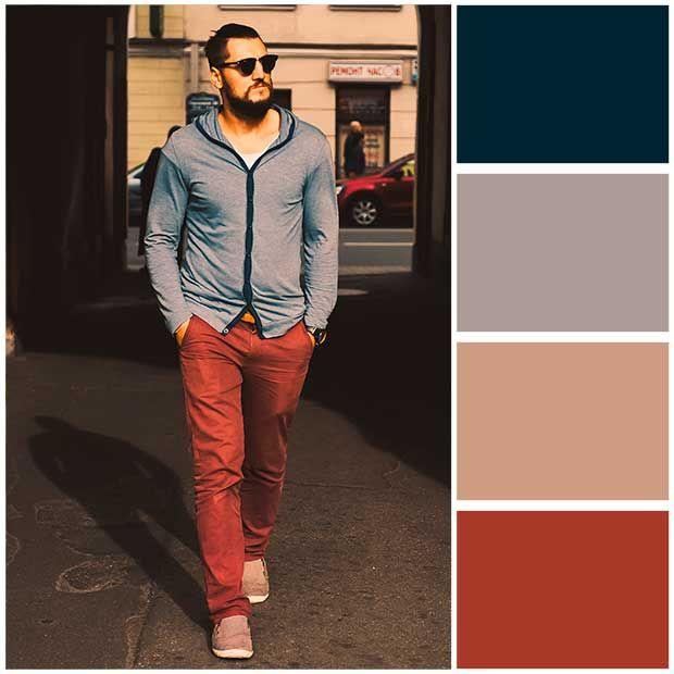 e02eada59a Combinar colores de ropa hombre como combinar colores de ropa para hombre  001