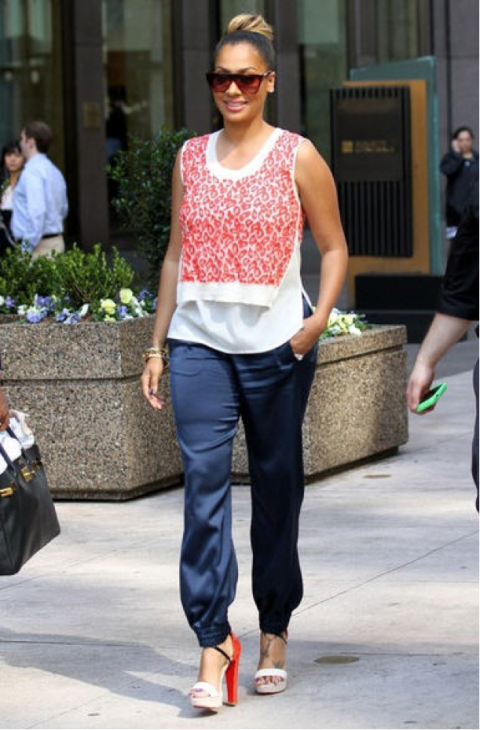 3c6c7c72bc3 La La Anthony--if I was tall like her, I would probably wear an ...
