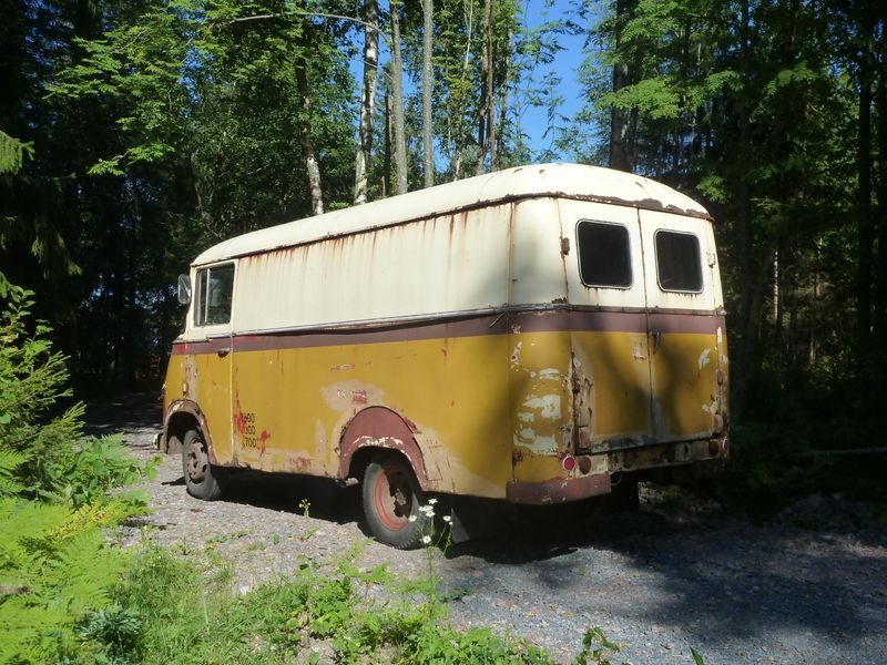 Hanomag Kurier 2 1963 Truck Car BarnBarn FindsRusty